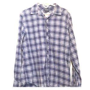 Banana Republic Flannel button down shirt